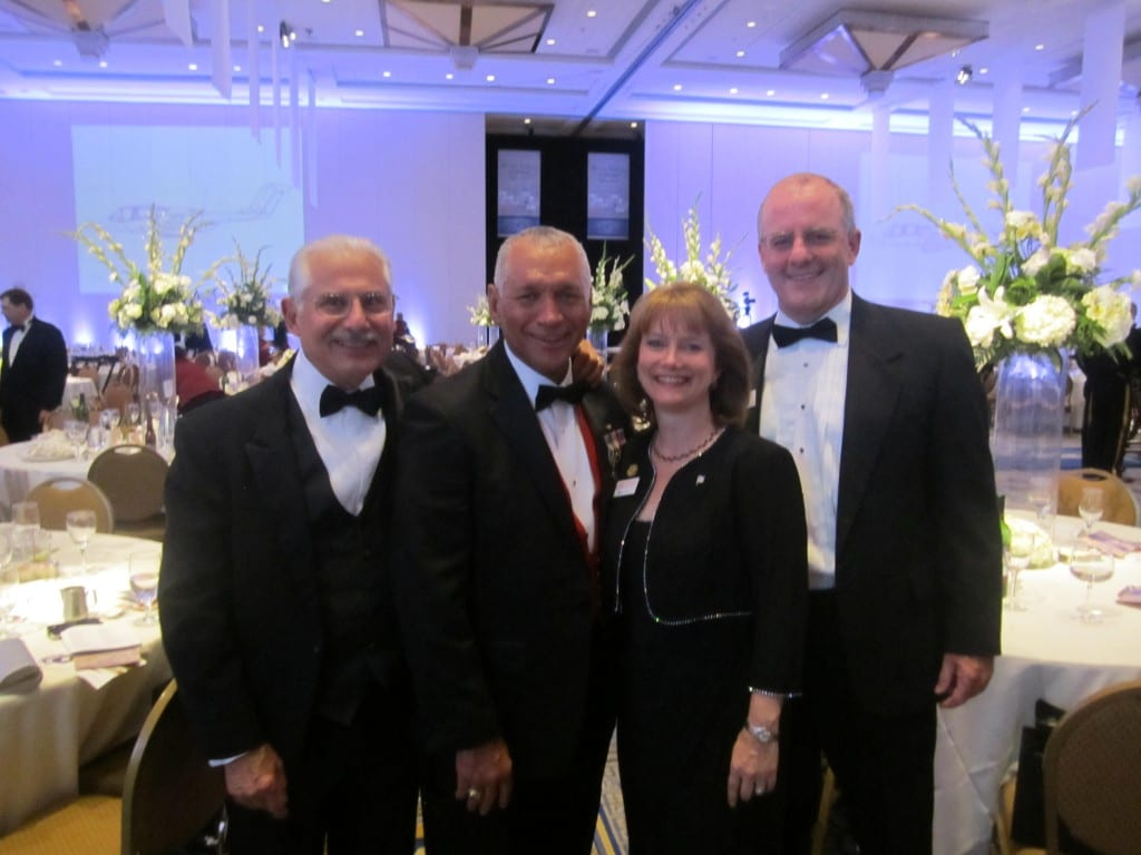 Gala Banquet. MCAA Exec. Director Art Sifuentes, NASA Administrator Charles Bolden, Molly and Ted Dey